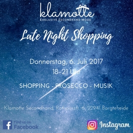 Late Night Shopping JPG für Handyversand