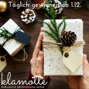 Adventskalender 2017 der Klamotte in Bargteheide ab 1.12.